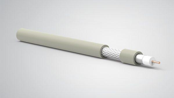 RG6 U/4 HFFR 75 OHM Koaksiyel Kablolar HFFR
